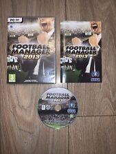 Football Manager 2013 PC Juego Usada Buen Estado