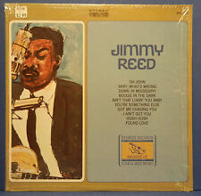 JIMMY REED SELF ARCHIVE OF FOLK & JAZZ LP 1964 SHRINK GREAT COND! VG++/VG++!!