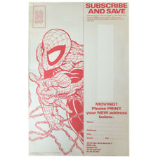 Spider-Man 'Subscribe and Save' Coupon Todd McFarlane Early 1990's Marvel Comics