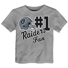 Oakland Raiders NFL Toddler Boys' Novelty Graphic T-Shirt  Size 3T - NWT