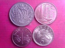 SINGAPORE    1  CENT  1977  1995    5 CENTS   1989   10 CENTS    1967     JAN25