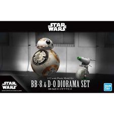 Bandai 1/12 Star Wars BB-8 and D-0 Diorama Set