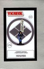 YKREOL 1/72 YK22 Samurai Warriors (32 Figures, 8 Poses)