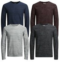JACK & JONES Originals Mens Fargo Knit Regular Cotton Jumper Crew Neck Sweater