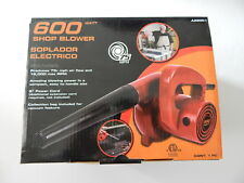 Portable 600 Watts Powerful Corded Shop Blower New