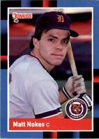 1988 Matt Nokes Donruss Baseball Card #152