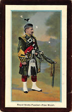R191100 Royal Scots Fusilier. Pipe Major. National Series. No. 347
