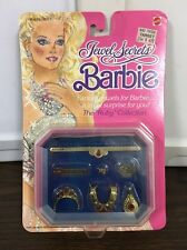 Vintage Mattel Jewel Secrets Barbie The Ruby Collection #1929 Jewelry Box MOC