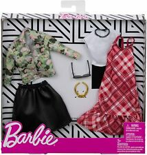 Barbie: Plaid & Camo Outfits: Combo Fashion Pack by Mattel, Inc.