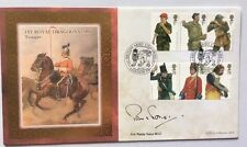 20.9.07 British Army Uniforms, Signed PADDY TABOR. 1st Royal Dragoons Trooper.