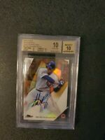 2015 TOPPS FINEST ANTHONY RIZZO GOLD REFRACTOR AUTO GEM MINT 10 - 10  Cubs