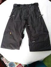 Special Blend Grey Mens Size M SB-WT Waterproof Snow Snowboard Ski Pants Vents