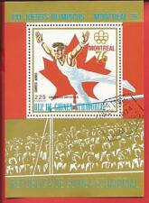 Afrika Äquatorialguinea Olympische Spiele Moskau Läufer Laufen Block 284 Äquatorialguinea