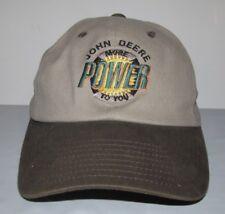 John Deere More POWER To You OSFM Adjustable 100% Cotton Cap Hat