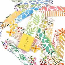 30 Pcs/pack Creative Flowers and Trees Exquisite Boxed Bookmark Message Card