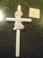 Euc- Vintage 1985 Roman, Inc. The Valencia Collection Baby Cross/ Baby Girl