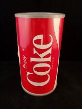 Vintage Collectible 70's GE Enjoy Coke Coca-Cola Can Transistor Radio - WORKS