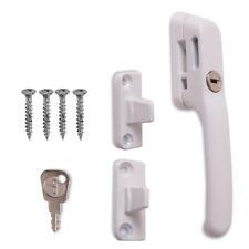 MODERN WHITE WINDOW ERA LOCKING HANDLE SET Universal Casement Fastener Wood Lock