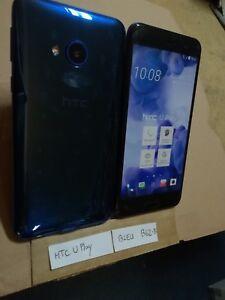 TELEPHONE PORTABLE FACTICE dummy smartphone N°B62-B : HTC U play bleu