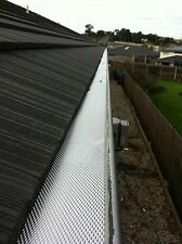 ZEROLADDER Aluminium  Premium Gutter Guard Freight Free For Orders 20 L/M & Over