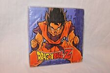 NEW IN PACKAGE  DRAGONBALL  16 DESSERT NAPKINS  PARTY SUPPLIES