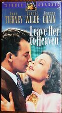 LEAVE HER TO HEAVEN (vhs) Gene Tierney, Cornel Wilde. BRAND NEW. Sealed. Rare NR