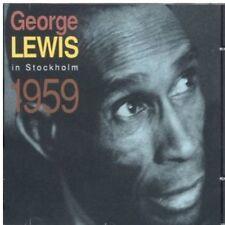 George Lewis - In Stockholm 1959 [New CD] Spain - Import