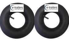 "PAIR - 8"" Trailer Wheelbarrow inner tubes fits 400-8 400x8 4.80/4.00-8 tyres"