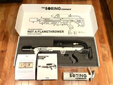 NEW Boring Company Not-A-Flamethrower + $5 Letter + Extinguisher NEVER USED 9416