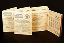 SET OF 15 Replica Ration Books-Perfect for School Project-Historical Day-Wartime