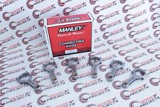 """MANLEY H-Beam Connecting Rods .8671"""" Pin Bore Fits Ford BA Falcon XR6 Turbo 4.0L"""