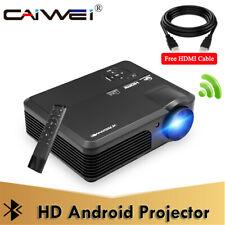 CAIWEI 1080P LED Heimkino Projektor Beamer HDMI Cable 5000LMS Full HD Multimedia