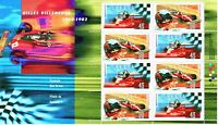 Gilles Villeneuve #1648b MNH souvenir stamp sheet