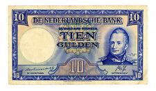 Netherlands … P-75a … 10 Gulden … Incorrect Date 1788-1843 … *VF+*