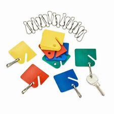 AdirOffice Multicolor Home Office Commercial Key Tags 40pc Key Holder Label Tag