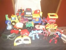Vintage Playskool & Other Toys, Accessories, Vehicles, & Figures Lot, 20 Pieces
