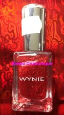 1 Vernis à Ongles WYNIE Collection PAILLETTE Pailleté 311 Rouge