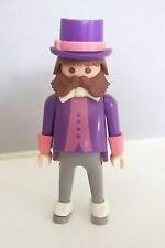 PLAYMOBIL (J339) EPOQUE 1900 - Homme en Costume avec Chapeau Haut de Forme 5300