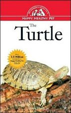NEW BOOK The Turtle Happy Healthy Pet by Lenny Flank (Hardback)