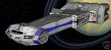 Assassin CR-90 Corvette Spacecraft Wood Model FreeShip