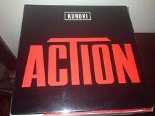 """KURUKI - ACTION 12"""" MAXI BELGIUM SYNTH POP"""