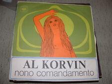 """AL KORVIN """" NONO COMANDAMENTO - THE IMPOSSIBLE DREAM """" ITALY'69"""