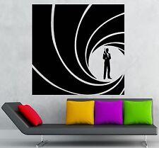 Vinyl Decal James Bond 007 Spy CIA FBI Secret Service Agent Wall Sticker (ig998)