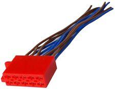 Connecteur fiche ISO 10PIN pour autoradio précâblée faisceau universel enceintes