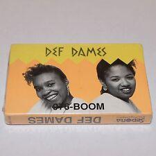 Def Dames 976-BOOM Cassette Tape SEALED 1989 Hip Hop Rap Miami Bass Cassingle