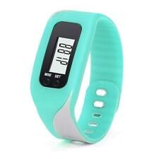 Digital LCD Pedometer Run Step Walking Distance Calorie Counter Bracelet Watch X