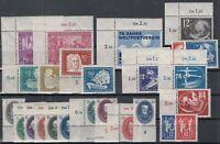 CU7641/ GERMANY DDR – 1949 / 1950 MINT SEMI MODERN LOT