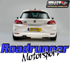 Milltek Exhaust Scirocco GT 2.0 TSI Cat Back System SSXVW104 Non Res LOUDER
