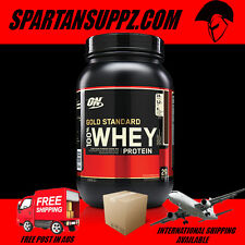OPTIMUM NUTRITION 100% WHEY 2LB GOLD STANDARD INTERNATIONAL SHIPPING