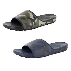 Fitflop Mens Lido Camo Neoprene Slide Sandal Shoes